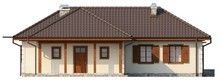 Проект одноэтажного дома с большим чердаком