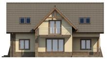 Проект красивого дома с двумя гостиными