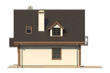 Обаятельный проект экологичного загородного дома с гаражом