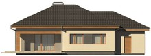 Проект одноэтажного особняка с гаражом