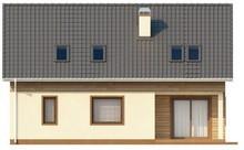 Проект классического экономного дома с мансардным этажом