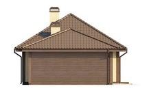 Проект просторного классического дома с мансардой и 2 спальнями