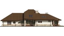 Проект комфортабельного особняка с гаражом для двух автомобилей
