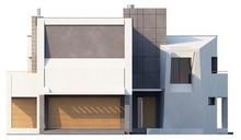 Эксклюзивный проект особняка в стиле модерн