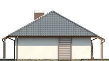 Проект одноэтажного дома в европейском стиле