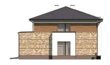 Проект просторного двухэтажного дома с баней
