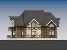 Проект оригинального дома в стиле шале