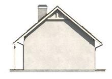 Проект компактного уютного дачного дома для небольшого участка