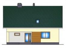 1,5-этажный дом с дополнительной спальней на 1-ом этаже