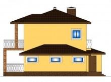 Комфортный загородный дом с гармоничным фасадом