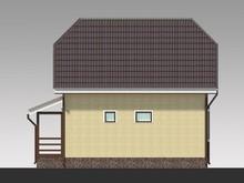 Проект 2х этажного коттеджа 100 m²