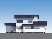 Проект двухэтажного практичного и несложного в строительстве коттеджа