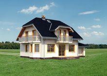 Проект небольшой усадьбы 180 m²