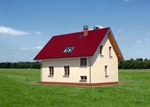 Небольшое двухэтажное загородное поместье с площадью 116 m²