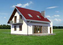 Архитектурный проект элегантного особняка площадью 140 m²