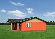 Превосходный небольшой коттедж для маленькой семьи со всеми удобствами