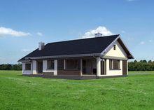 Дом для узкого участка 18 на 10