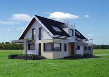 Изумительный проект дома для узкого участка