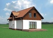 Комфортный двухэтажный дом на два этажа