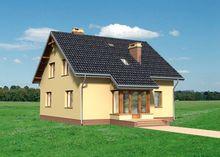 Двухэтажный особняк с красивой гостиной