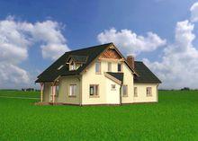 Проект стильного особняка с семью спальнями для большой семьи