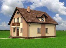 Проект загородной усадьбы с интересным и лаконичным дизайном