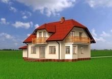 Проект оригинальной загородной усадьбы с пятью спальнями