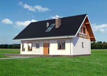 Архитектурный проект элегантного коттеджа с площадью 160 m²