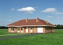 Симпатичный дом с оригинальной планировкой