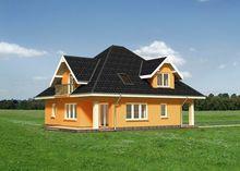 Проект красивого загородного дома с неброским дизайном