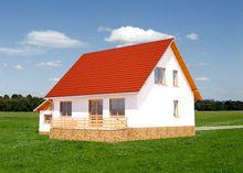 Удобный загородный дом с уютной кухней и большой гостиной