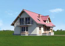 Уютный загородный особняк с площадью 200 m²