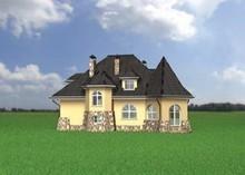 Неповторимая загородная усадьба с красивым средневековым дизайном
