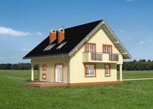 Дом с тремя спальнями в мансарде