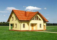 Интересное строение на два этажа в деревенском стиле