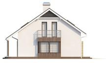 Просторный уютный коттедж с большими окнами