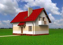 Симпатичный дом с просторной зоной приготовления пищи