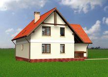 Приятного вида двухэтажное строение