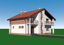 Проект презентабельного строения на 150 м2 жилой площади