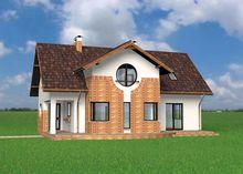 Очаровательный загородный дом с просторной уютной верандой