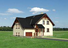 Проект жилого дома для неровного участка