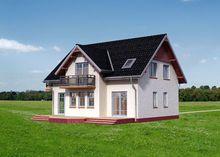Восхитительный особняк с красивыми балконами
