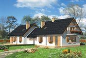 Просторный загородный особняк на две семьи в современном стиле