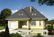 Проект загородного коттеджа с изысканным и лаконичным дизайном