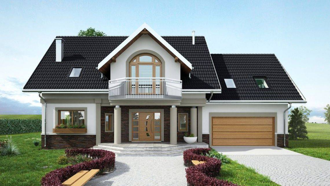 Роскошный загородный коттедж с солнечной зоной для отдыха