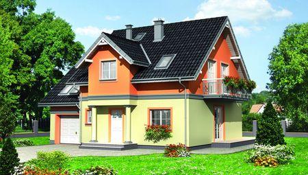 Проект компактного дома 170 m²