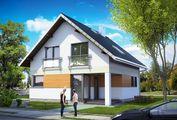 Проект привлекательного загородного коттеджа с четырьмя спальнями