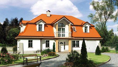Уникальный проект величественного загородного дома