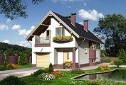 Уютный дом с цокольным этажом для дружной семьи