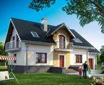Дом с мансардой для узкого участка с габаритами 9 на 15